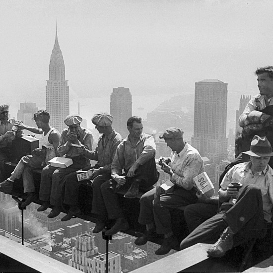 rockefeller-beam-workers-lunch-construction