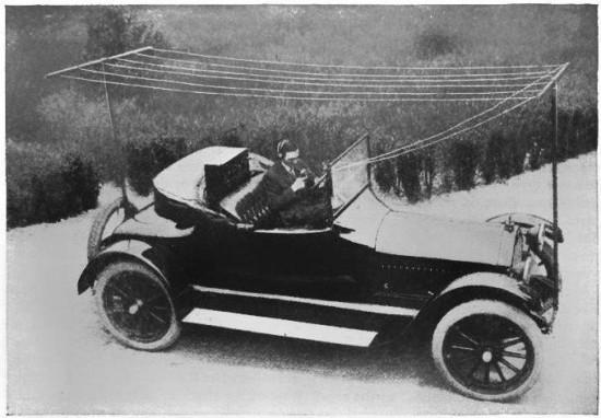 Первые радио в машине
